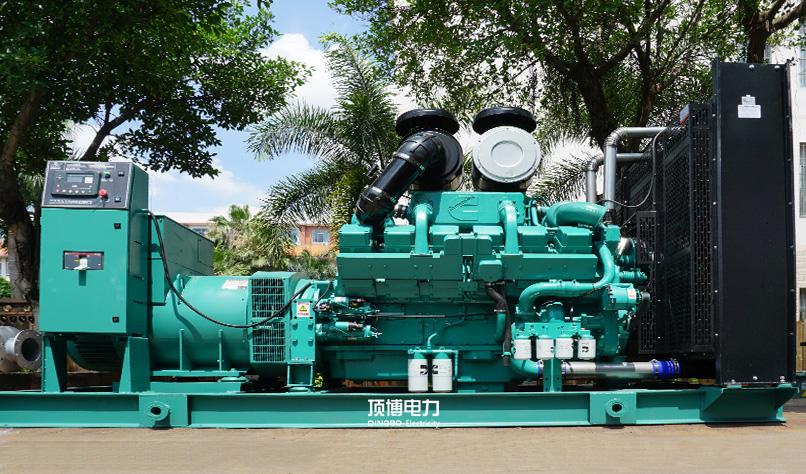 广西旺达房地产公司2台800KW康明斯柴油BOB体育客户端